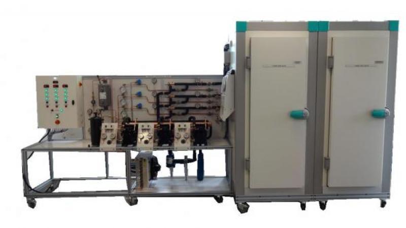 Cre 302 centrale frigorifique 3 compresseurs - Calcul puissance chambre froide ...
