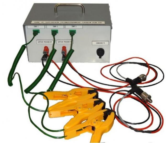 SUP 120 / DATA ACQUISITION AND REAL TIME ENTHALPIC DIAGRAM BOX ...