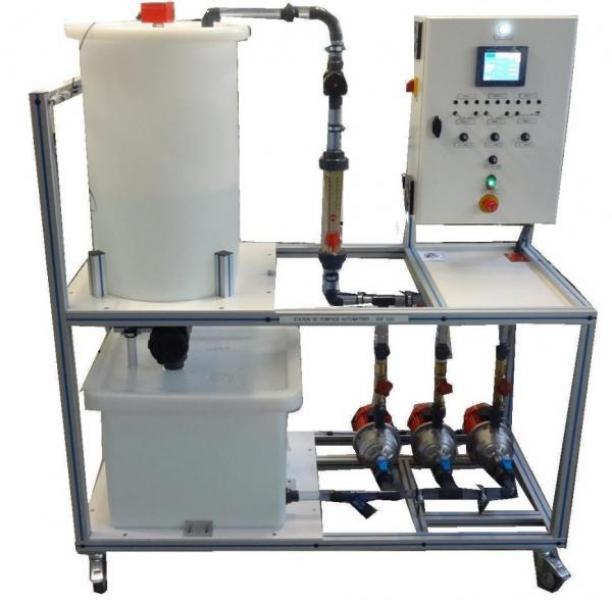 sdp 050 automated pumping skid regulation measurement regulation detection. Black Bedroom Furniture Sets. Home Design Ideas